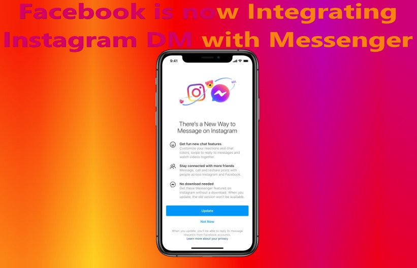 Facebook is now Integrating Instagram DM with Messenger