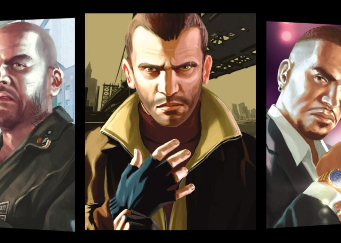 Grand Theft Auto IV Game by Rockstar
