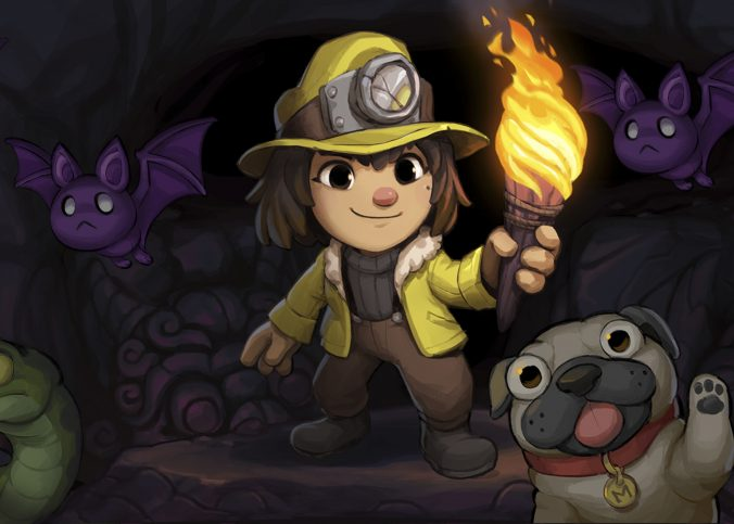 About Spelunky 2 Game Set in a Fantasy World