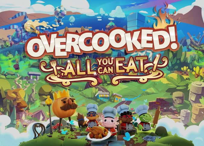 Game Overcooked! All You Can Eat Is Just an Overcooked Food Fighting Simulator