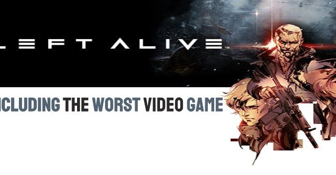 Left Alive, Including the Worst Video Game