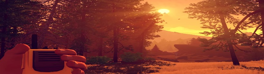 The Beginning of the Mystery Game of the Firewatch Campo Saint