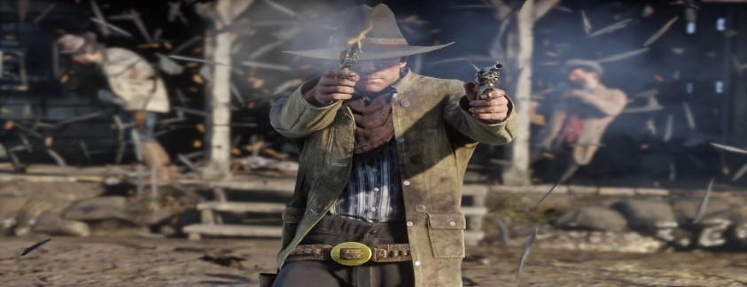 Action in the Game Red Dead Redemption