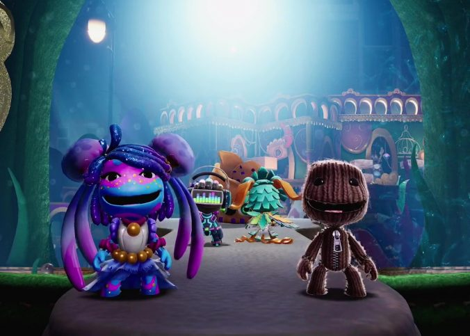 Game Sackboy: A Big Adventure is a mobile game 2020